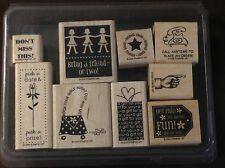 """Stampin' Up! Business Boosters """"2006"""" stamp set"""