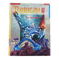 Turrican II: The Final Flight Commodore 64 C64 Cassette Rainbow Arts Untested