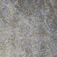 Bronze Brass gray gold metallic Crushed metal textured Industrial Wallpaper roll