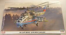Hasegawa 1/72 Mi-24P Hind Golden Eagles Helicopter Model Kit 2127