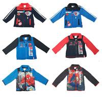 Boy's Marvel Spiderman Fleece Jacket Marvel Spiderman Top Age 3, 4, 6 & 8 Years