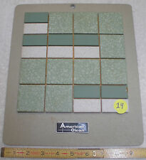 Vintage Ceramic Tile, The American Olean Co.  Matte Flooring Samples tiles  (14)