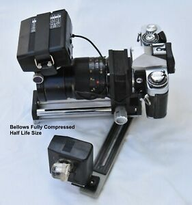 Minolta Auto Bellows and Macro system and camera