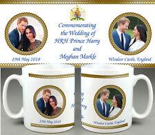 Prince Harry Meghan Markle ROYAL WEDDING Commemorative Mug #7 Cup Tribute