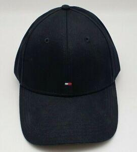 Tommy Hilfiger Classic Baseball Cap Herren Schwarz  One Size E367895041 New