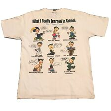 Rare Vintage 1980-1990's What I Really Learned In High School Panama City Size L