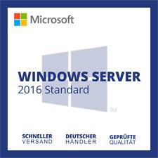Microsoft Windows Server 2016 Standard | Vollversion | Blitzversand