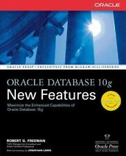 Oracle Database 10g New Features (Osborne ORACLE Press Series) Freeman, Robert