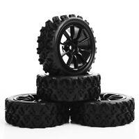 1/10 RC Rally Racing Off Road pneus en caoutchouc pneumatique et roue 4PCS