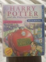 Harry Potter And The Philosophers stone Audio Tapes. Complete and unabridged.