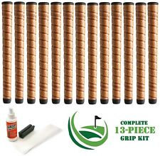 13 x Winn Golf Dri-Tac DriTac Wrap Performance Soft Copper Standard Grips + KIT