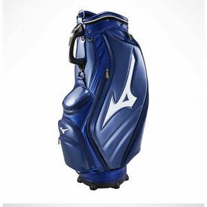 """[Mizuno] 2019 RB LIMITED Mens Golf Club Bag 9.5"""" PU/PVC Enamel Navy ⭐Tracking⭐"""
