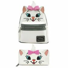 Disney /& Loungefly Marie Aristocats Big Face ZA Wallet White//Pink SEALED PACKAGE
