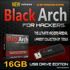 BLACKARCH LIVE USB - PRO HACKING OPERATING SYSTEM - 2500+ TOOLS HACK ANY PC