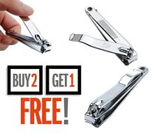 Brand New Large Stainless Steel Hand/Toe Nail Cutter Clipper Trimmer