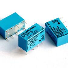 TAKAMISAWA RY5W-K 5V DPDT Signal Relay, For Audio, x4