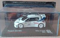 "DIE CAST "" PEUGEOT 206 WRC RALLYE ACROPOLIS - 2001 "" SCALA 1/43"