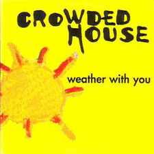 CD SINGLE CROWDED HOUSEWeather with you French Promo 1 Track CARD SLEEVE