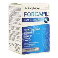 Forcapil 60 caps - regeneration & stimulation hair, stronger nails,no hair loss
