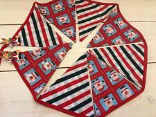 Fabric Christmas Bunting, Banner Xmas Deco, Xmas Bunting, Xmas Decorations,
