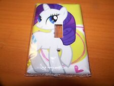 MY LITTLE PONY RARITY LIGHT SWITCH PLATE