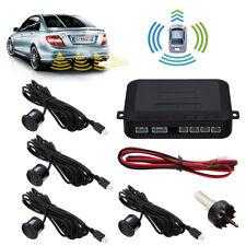 4 Parking Sensors Car Reverse Rear Radar System Alert Auto Backup Alarm Kit