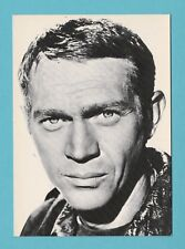 ACTOR  -  TRAVELLING  EDITIONS  -  POSTCARD  -  STEVE  McQUEEN