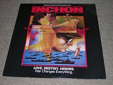 "INCHON (EX) 1982 Goldsmith Soundtrack (NM) 12"" 33RPM Regency International LP"