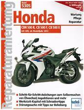 Buch Reparaturanleitung Honda CBR 500 R, CB 500 F, CB 500 X ab Bj 2013 Band 5305