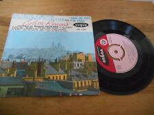 """7"""" Chanson Colette Renard - Sous Les Toits De Paris (4 Song) DISQUES VOGUE"""