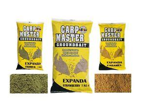 Van Den Eynde Carp Master Expanda Caramel/Fishmeal/Strawberry 1kg Carp Bait