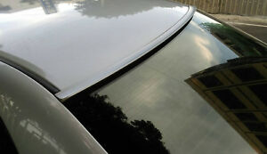 Painted SILVER Color for 2013-2018 Lincoln MKZ-Rear Window Roof Spoiler