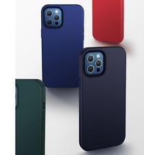 Funda Silicona Suave Para Apple iPhone 12 SE 2020 11 X 7/8 Forro Microfibra