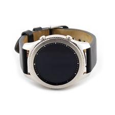 Samsung Galaxy Gear S3 Classic Silver 46mm Black Leather Band SM-R770NZSAXAR