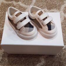 $175 NWT & Box, burberry baby shoes size 17e /1.5 usa