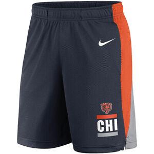 Brand New 2021 NFL Chicago Bears Nike Broadcast Performance Dri-FIT Shorts NWT
