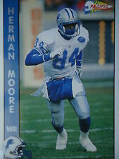 NFL 90 Herman Moore WR Wide Receiver Pacific 1992
