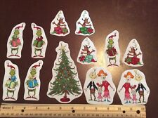 Style# 9 Dr. Seuss The Grinch Who Stole Christmas Fabric Iron On Appliques