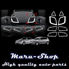 Chrome Interior Cover Trim Set for 12~ Hyundai Accent/i25/Solaris/Verna 4DR/5DR