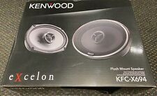 Kenwood eXcelon KFC X694 6x9 2-Way Coaxial Car Speaker 300W Peak Power 130W RMS