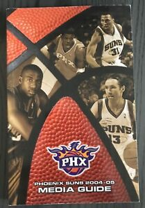 Phoenix Suns 2004-2005 Media Guide NBA Steve Nash Joe Johnson SHAWN Marion