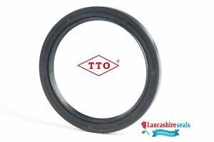 TTO Oil Seal 12x22x7mm Nitrile Rubber Double Lip R23 TC Multi Pack