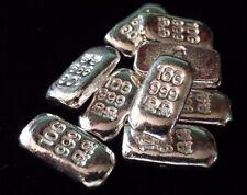 Original Chunky Bar 10 Grams Fine Silver .999 Shipwreck Skull Crossbones
