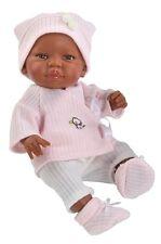 Puppen Kleidung Wickeljacke Mütze für Babypuppe 42 cm Paola Reina 75170