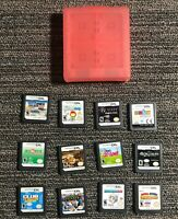 Lot of 12 Nintendo DS Games + Case *Tested* Sonic & Mario Club Penguin