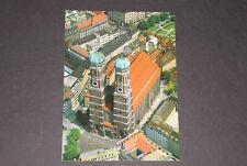 150) Ansichtskarte München Liebfrauendom Luftaufnahme Straßen Autos Park
