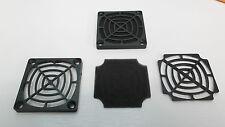 Filtro Ventola Fan 60 mm Kit Nero PC Custodia Polvere Protezione Mesh FK60 3 parti x 2 Serie Ono