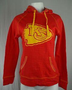 Kansas City Chiefs NFL Team Apparel Women's Logo Graphic Hoodie