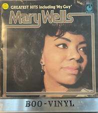 Mary Wells~ Greatest Hits UK 1973  Lp vinyl Record Soul EX / VG+ Con