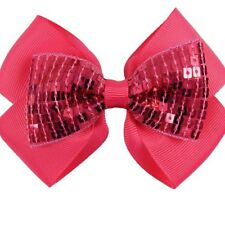 10pcs wholesale joblot baby kids Girl Large bow hair ribbon with alligator clips